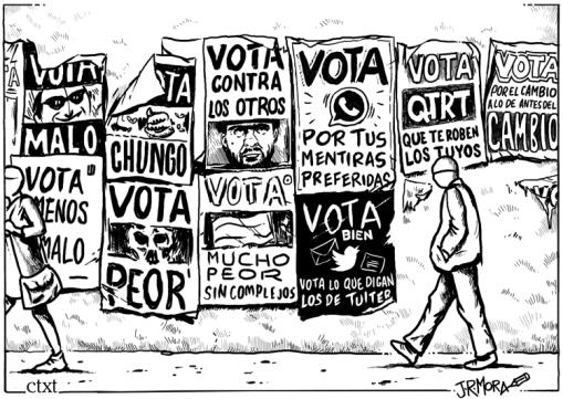 La Fiesta de la Democracia – sin noticias desde Alcântara